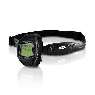 New Pyle PHRM76BK Heart Rate Speed & Distance Watch Total Fat/Calories Burned
