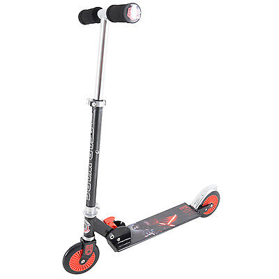 Star Wars The Force Awakens Kids In-line Folding Push Scooter Fun Outdoor Toy