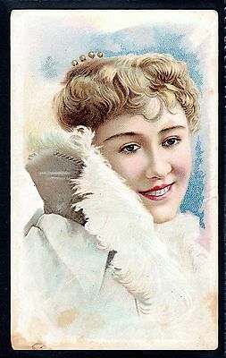 Rare Banner Tobacco (U.s.a.) Beauties (X25) Type Card