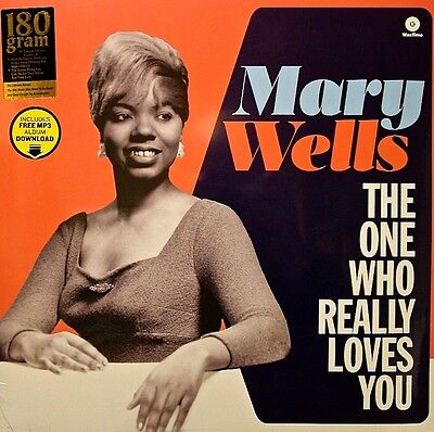 Mary Wells - The One Who Really Loves You. New Sealed Vinyl Record +Mp3 Download