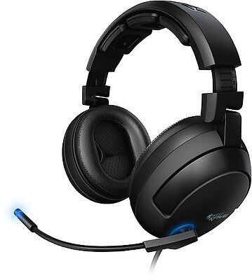 ROCCAT Kave Solid 5.1 Gaming Headset 3.5mm jacks, over-ear