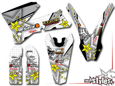 Ktm Sx-F Exc Smr 125 150 250 300 400 450 505 | 98-06 Facotry Dekor Decal Kit Ama