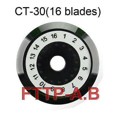 New 16 points Fiber Cleaver Blade For Fujikura  CT-30 CT-20 CT-10