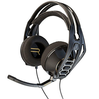 New Plantronics Rig 500Hd Surround Sound Pc Gaming Headset Headphones Black