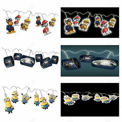 String Lights Minions Star Wars Despicable Me Minions Kids Bedroom Lighting