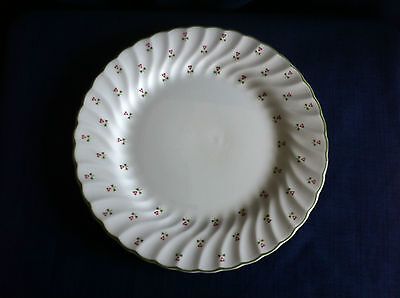 "Laura Ashley Thistle 8 5/8"" salad/dessert plate  (small glaze inclusion)"