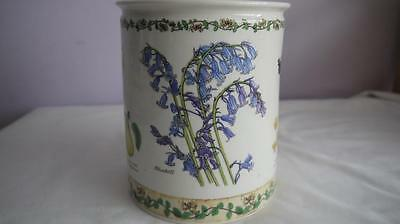 Fabulous Dunoon Nature Trail Stoneware Utensil Jar V.g.cond