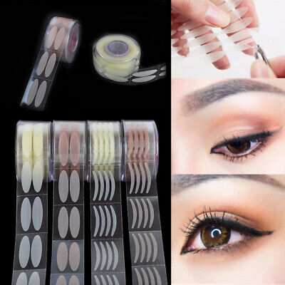 300 PAIRS Lace Eye Lift Strips Double Eyelid Tape Adhesive Stickers Roll Makeup