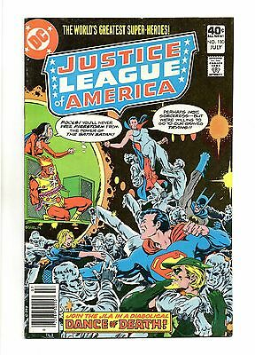 Justice League of America Vol 1 No 180 Jul 1980 (VFN+) Modern Age, Cents Copy