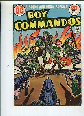 Boy Commandos #1 Very Good  A Simon And Kirby Special    CBX28