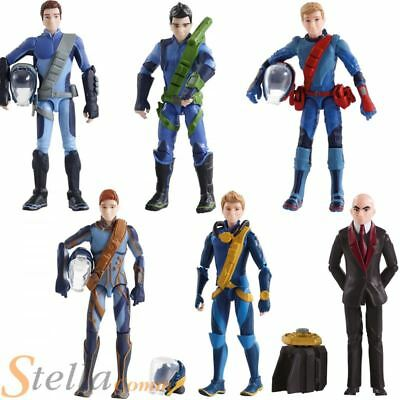 Thunderbirds Are Go 2015 Articulated Toy 9.5cm Action Figures With Accessories