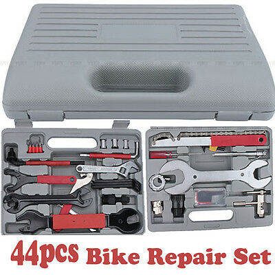 1Set(44ps) Bike Cycling Bicycle Maintenance Repair Hand Wrench Tool Kit Box Case