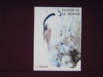 Art Catalogue-DLM 129-FRANCOIS FIEDLER-LITHOGRAPHS-Derriere le Miroir-1961