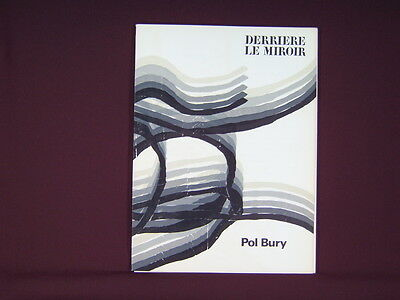 Art Catalogue-DLM 178-POL BURY-LITHOGRAPH-Derriere le Miroir-1969