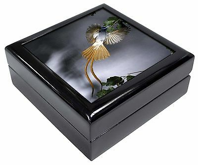 Humming Bird Picture Jewellery Box Christmas Gift, AB-91JB