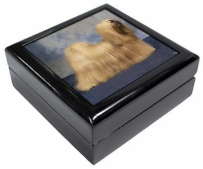 Lhasa Apso Dog Picture Jewellery Box Christmas Gift, AD-LA1JB