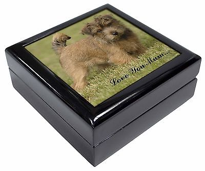 Norfolk Norwich Terrier 'Love You Mum' Picture Jewellery Box Christ, AD-NT1lymJB