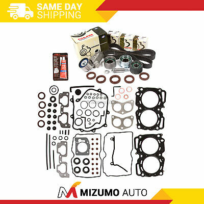 MLS HEAD GASKET Set Timing Belt Kit Fit 00-03 Subaru 2 5