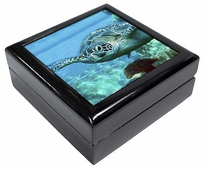 Turtle by Coral Picture Jewellery Box Christmas Gift, AF-T20JB