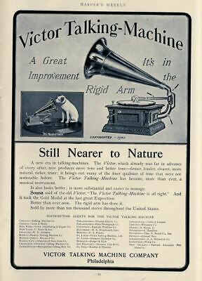 Victor Talking Machine Company Sousa Still Nearer To Nature Distributing Agents