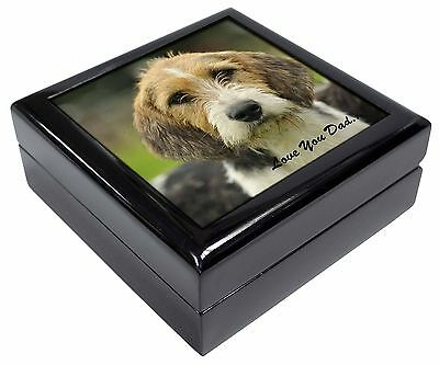 Fox Hound 'Love You Dad' Picture Jewellery Box Christmas Gift, DAD-30JB