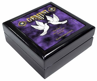 Gemini Star Sign Birthday Gift Keepsake/Jewellery Box Christmas Gift, ZOD-3JB
