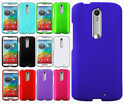 For Motorola Droid Turbo 2 Rubberized Hard Protector Case Snap On Phone Cover