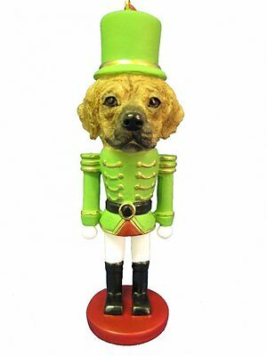 PUGGLE Dog Soldier Holiday NUTCRACKER ORNAMENT
