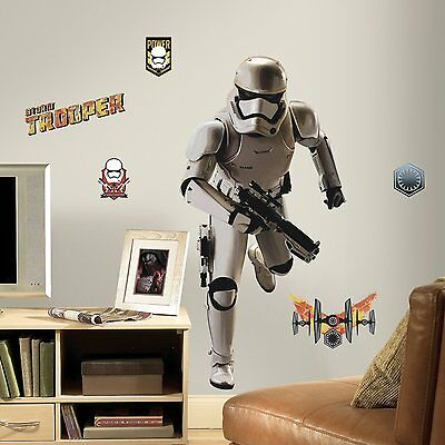 STAR WARS STORMTROOPER GiAnT Wall Decals Room Decor Stickers FORCE AWAKENS 3150