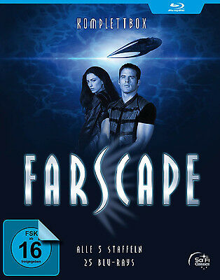 Blu-ray * FARSCAPE - VERSCHOLLEN IM ALL - STAFFEL 1-5 - KOMPLETTBOX# NEU OVP ""
