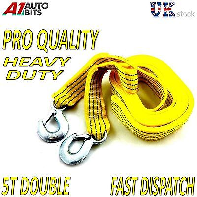 4.5M Tow Towing Pull Vehicle Rope Strap Heavy Duty Garage 5 Tons Car Recovery