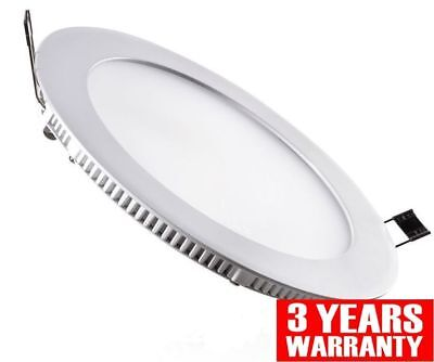 18W LED Round Recessed Ceiling Flat Panel Down Light Ultra slim Cool White