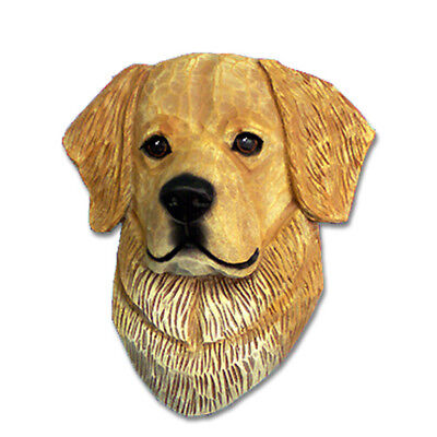 Golden Retriever Head Plaque Figurine Light