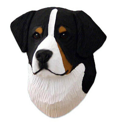 Bernese Mt. Dog Head Plaque Figurine