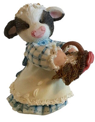 Marys Moo Moos NIB Flour Girl Flower Girl Wedding Figurine