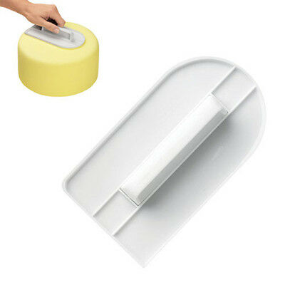1pc Cake Decorating Smoother Polisher Tools Cutter Fondant Sugarcraft Icing Mold