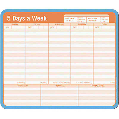 Note Paper Mouse Pad Daily Planner