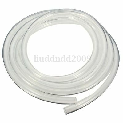 9.5x12.7mm 2M Transparent Computer PC Water Cooling Soft PVC Tube Agua Tubería