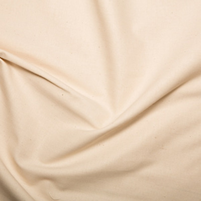 Calico Quilter's Pre Shrunk Medium Weight 100% Cotton Fabric Unbleached