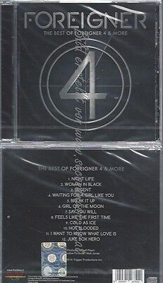 Cd--Foreigner--The Best Of 4 And More