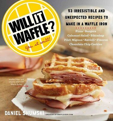 Will it Waffle? 9780761176466 by Daniel Shumski, Paperback, BRAND NEW FREE P&H