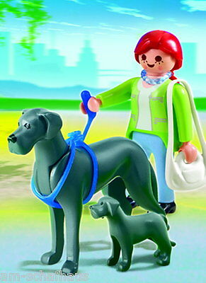 Playmobil - Sammelhunde - Dogge mit Welpe, 5210