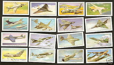 Wills cigarette cards - MILITARY AIRCRAFT - Mint condition full set