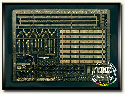 Royal Model 1/35 WWII US Infantry Accessories #461