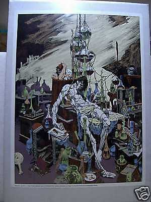 Bernie Wrightson: Frankenstein Monster (signed & numbered) (USA)