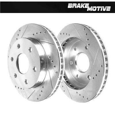Front Drill And Slot Brake Rotors For Escalade Silverado Sierra Yukon