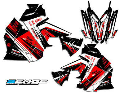 2015 2016 Polaris Axys Graphics Kit Deco Sled Wrap Rush Switchback Decals Senge