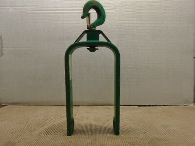 "Greenlee 12"" Hook-Type Cable Sheave 651"