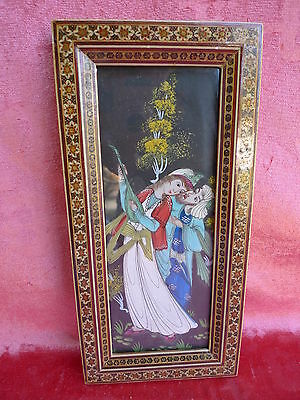 Pretty Picture__orient__Miniature painting__liebelspaar__Beautiful Frame__