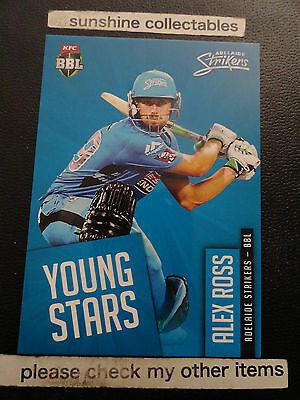 2015/16 Tap N Play Cricket Young Stars Ys-05 Alex Ross Bbl